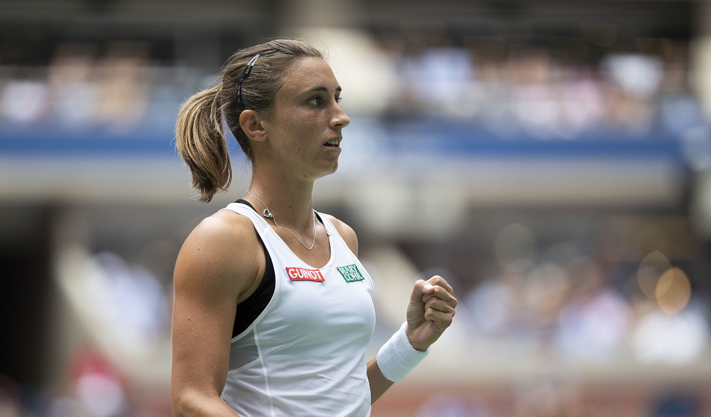 Petra Martic in action