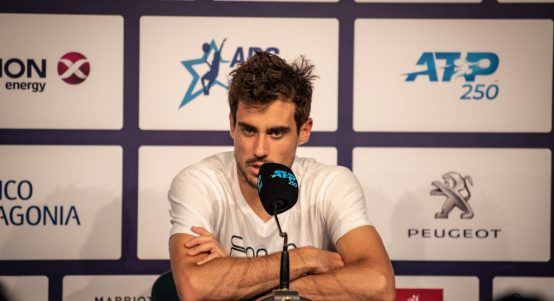 Guido Pella press conference