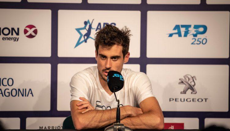 Guido Pella press conference