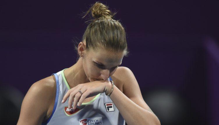 Karolina Pliskova disappointed