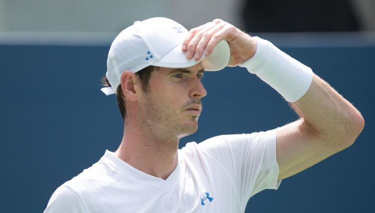 Andy Murray serious