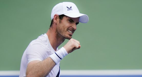 Andy Murray fist pump
