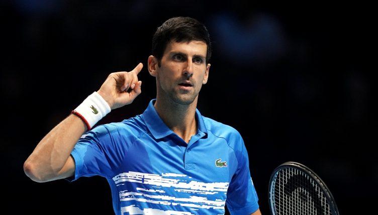 Novak Djokovic antics