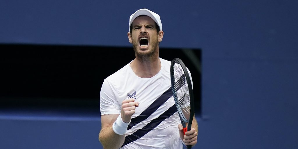 Andy Murray celebrations