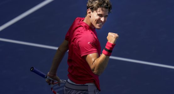 Dominic Thiem delighted