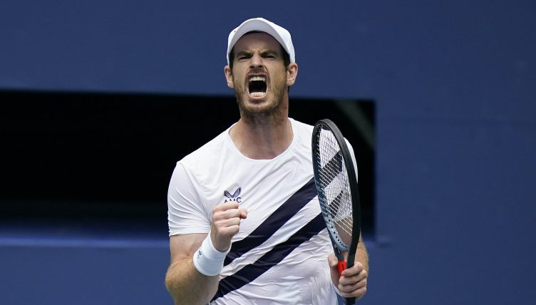Andy Murray delight