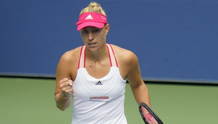 Angelique Kerber pleased