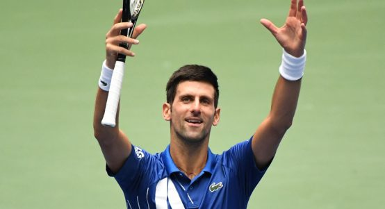 Novak Djokovic pleased with himself
