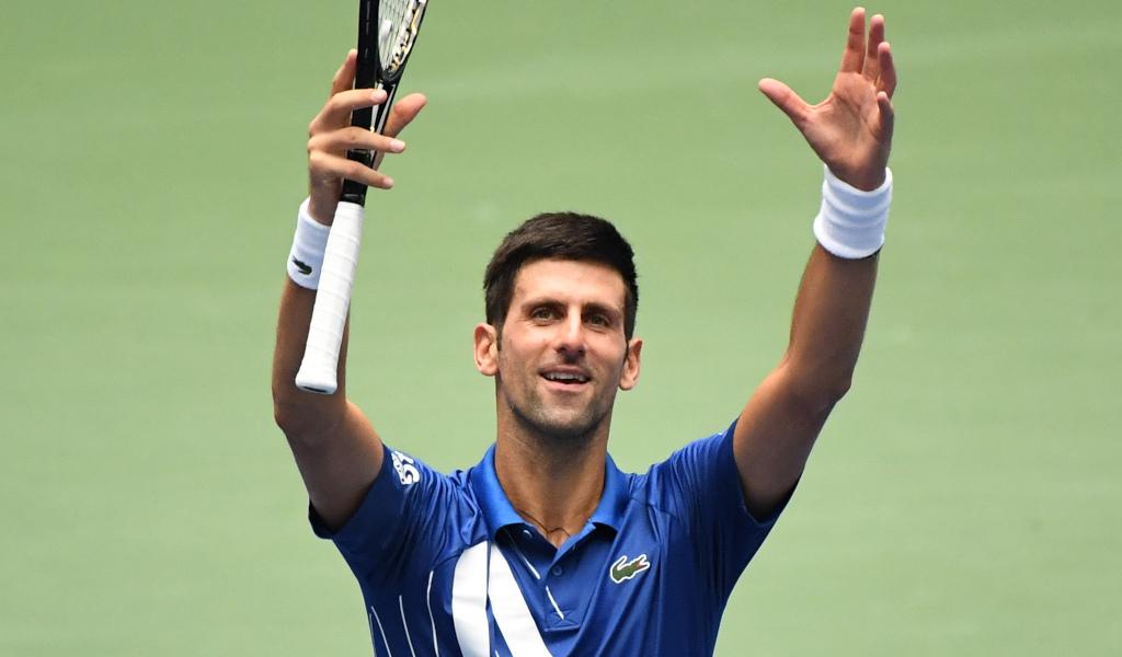 Novak Djokovic pleased with himself