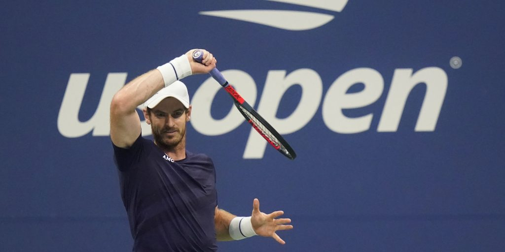 Andy Murray forehand