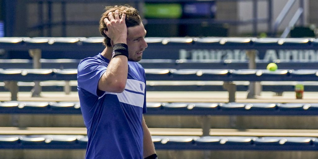 Cameron Norrie disappointed