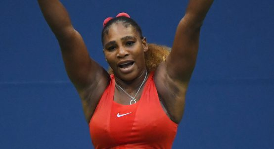 Serena Williams pleased