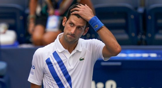 Novak Djokovic disqualified from US Open