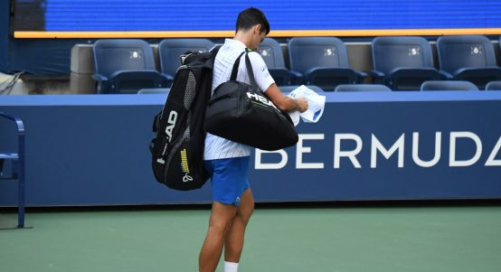 Novak Djokovic defaulted from US Open