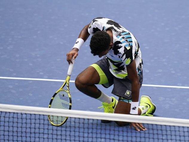 Felix Auger-Aliassime was down and out at the US Open