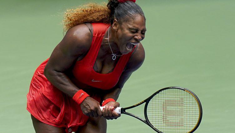Serena Williams gets vocal