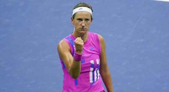 Victoria Azarenka pleased