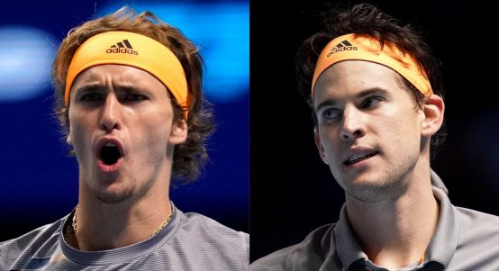 Alexander Zverev and Dominic Thiem