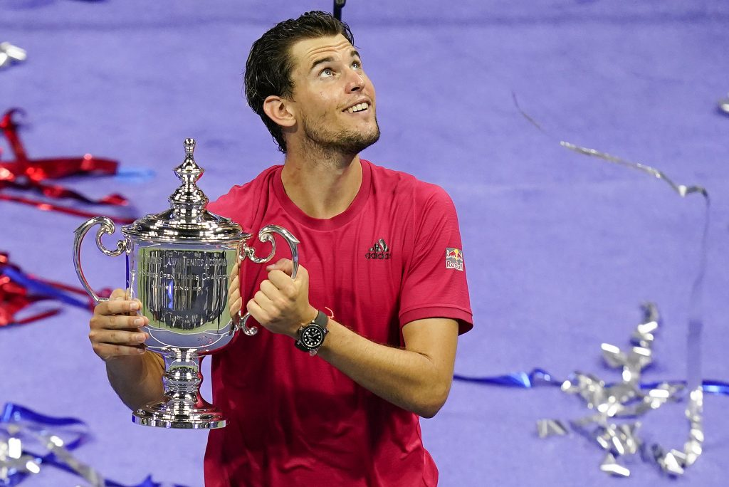 Dominic Thiem US Open champion