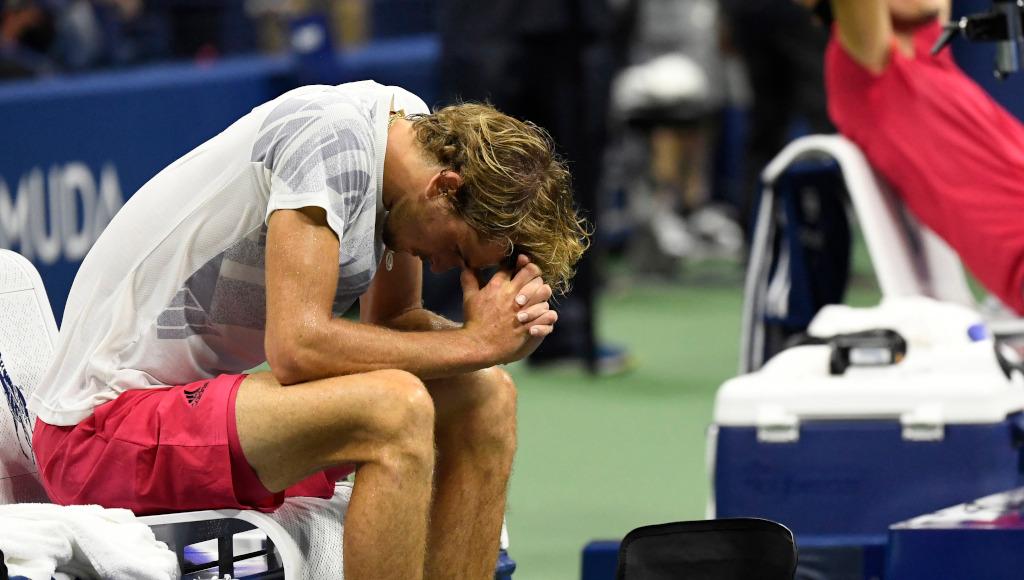 Alexander Zverev heartbroken after US Open final