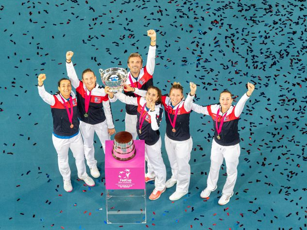 France are the reigning Fed Cup champions