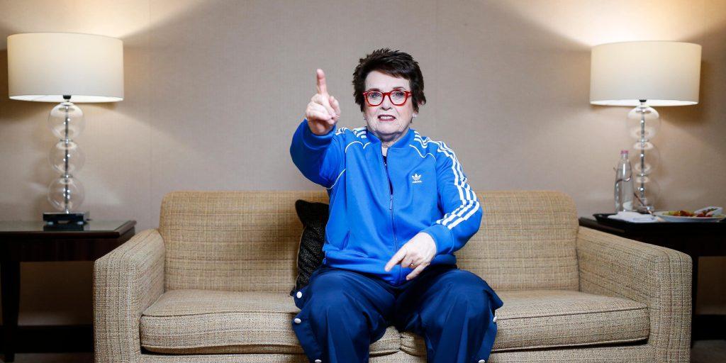 Fed Cup - Billie Jean King rebrand