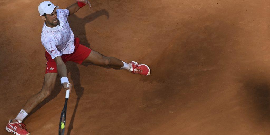 Novak Djokovic in Rome