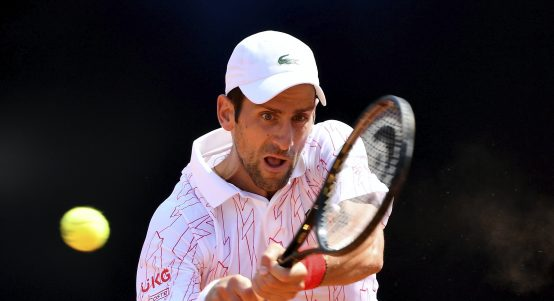 Novak Djokovic backhand