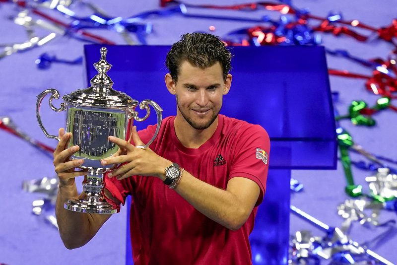 Dominic Thiem US Open champion