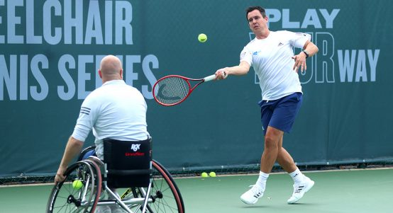 Rob Cross on wheelchair tennis