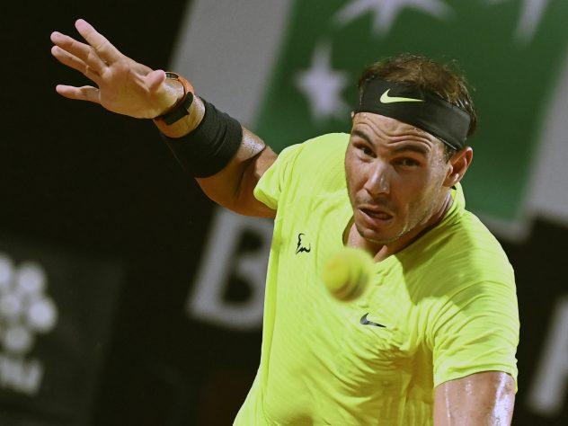 Rafael Nadal was beaten by Diego Schwartzman in Rome