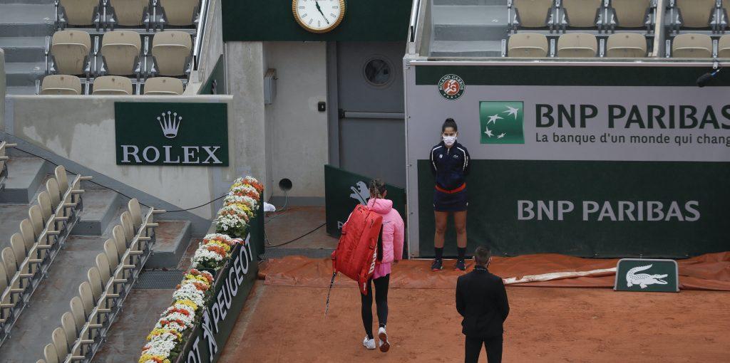 Victoria Azarenka at French Open