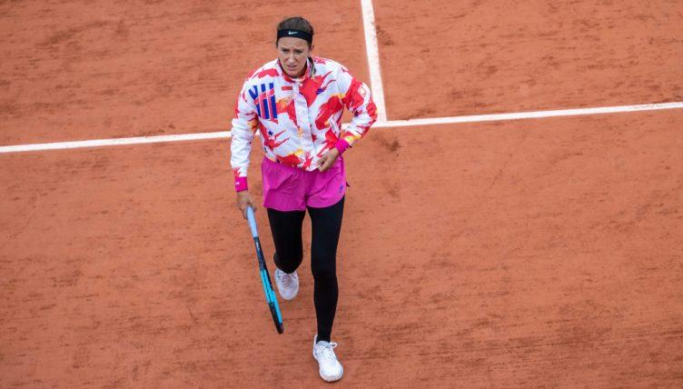 Victoria Azarenka at Roland Garros