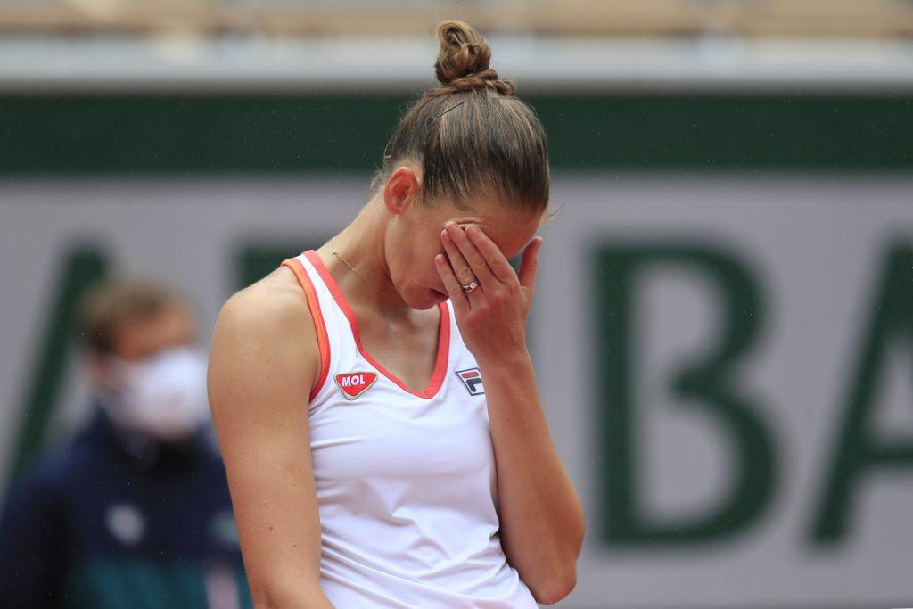Karolina Pliskova unimpressed