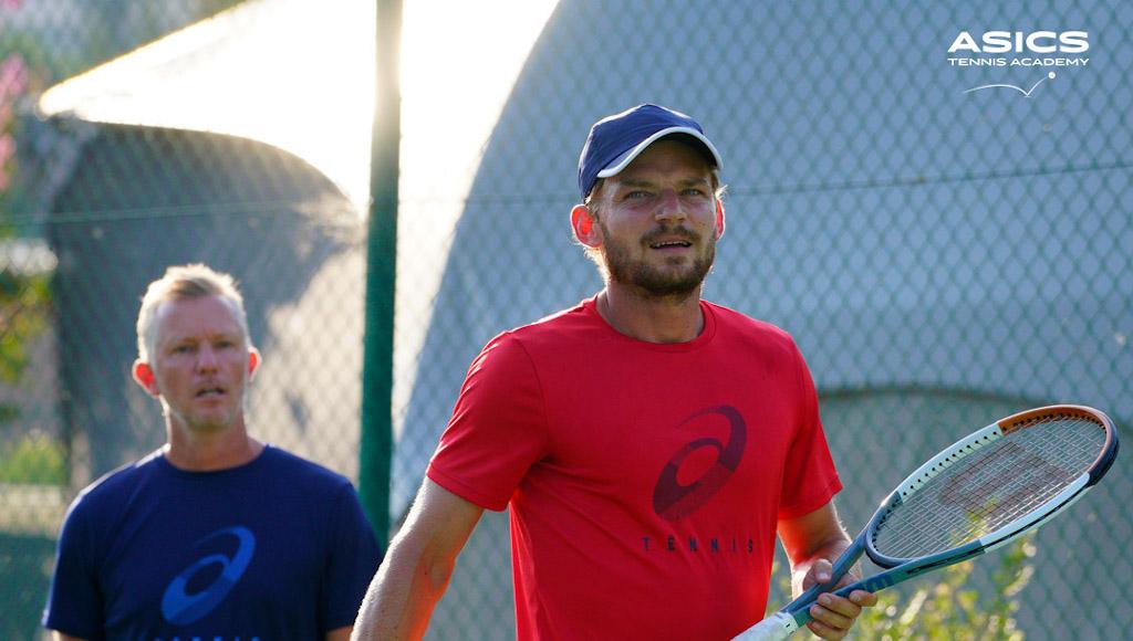 David Goffin ASICS Tennis Academy
