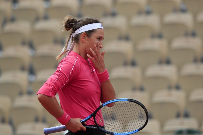 Victoria Azarenka disappointed