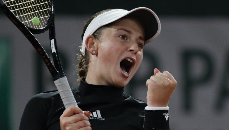 Jelena Ostapenko delighted