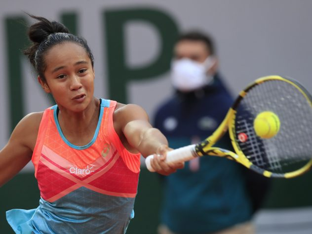Leylah Fernandez gave notice of her potential against Petra Kvitova