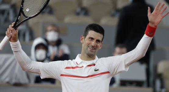Novak Djokovic happy
