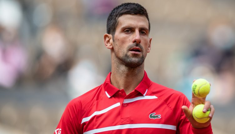 Novak Djokovic looking ahead