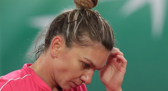 Simona Halep disappointed