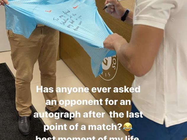 Sebastian Korda Instagram