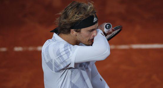 Alexander Zverev under the weather