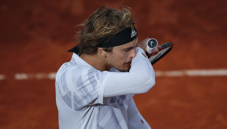 Alexander Zverev under the weather