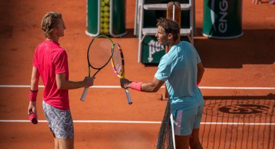 Sebastian Korda and Rafael Nadal
