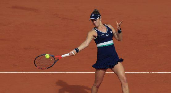 Nadia Podoroska in action