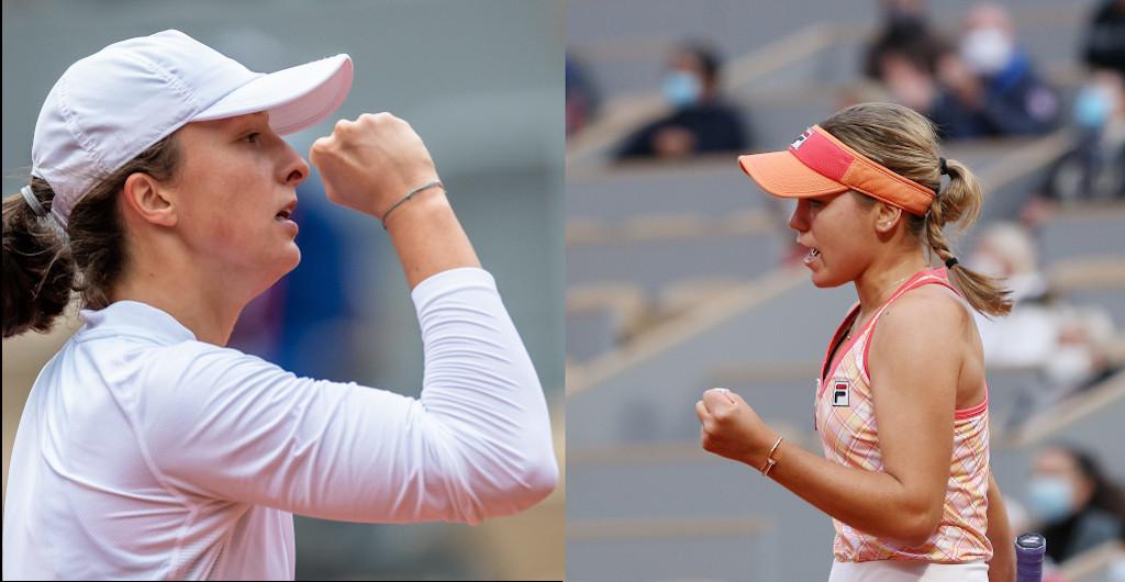Iga Swiatek v Sofia Kenin French Open women's final
