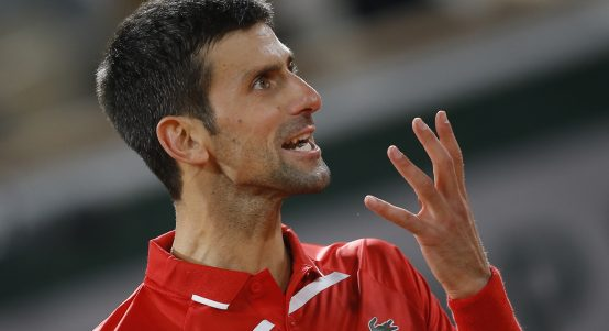 Novak Djokovic animated