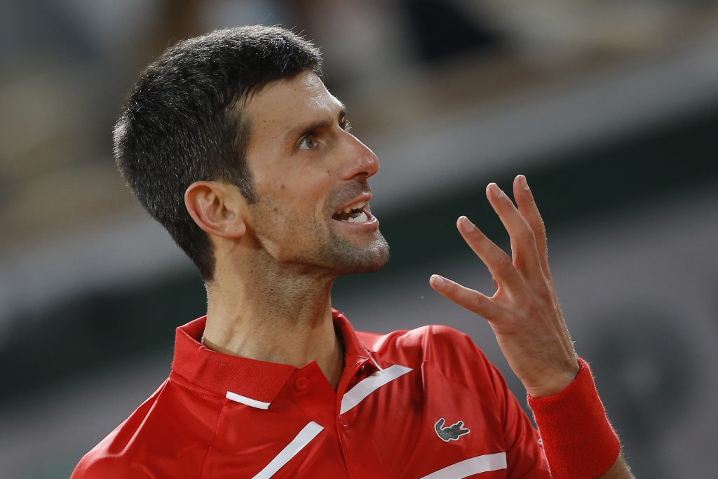Novak Djokovic animated