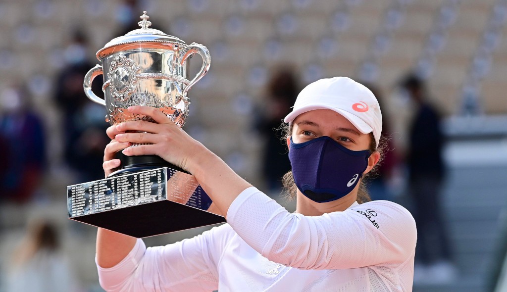 Iga Swiatek French Open champion